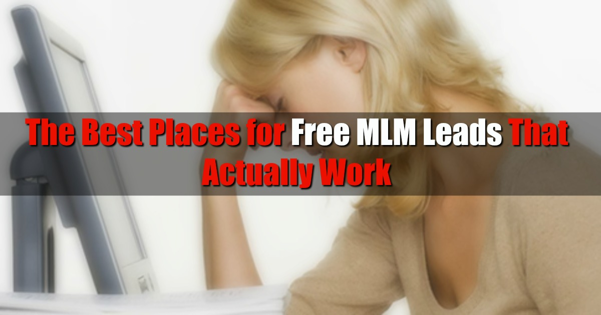 FREE MLM LEADS FOR YOUR BUSINESS