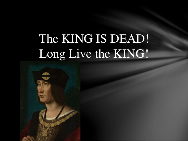 The King Is Dead – Long Live The King