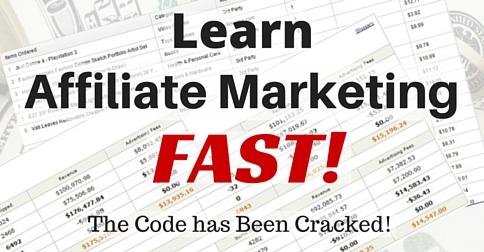Learn Affiliate Marketing – FAST….