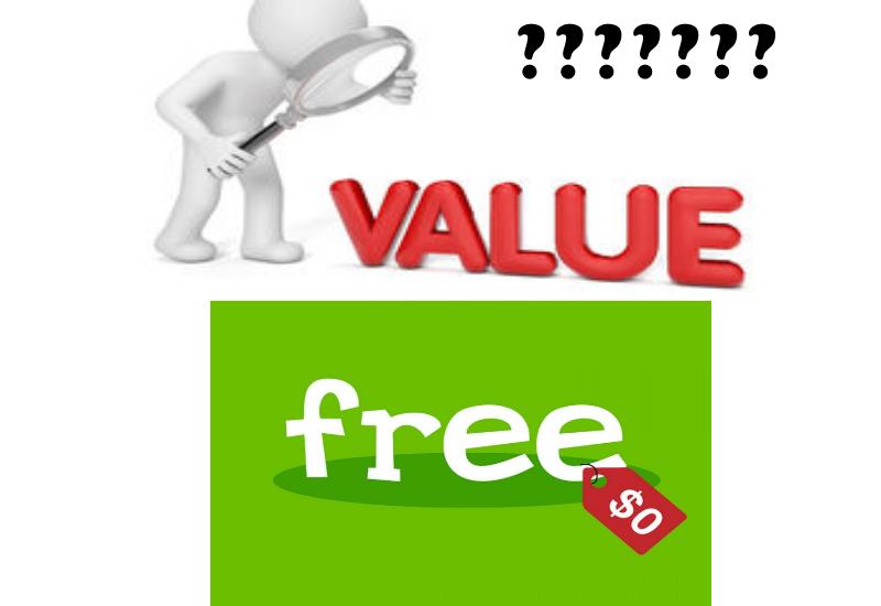 Do You Value FREE?