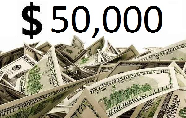 Less than 30 days to $50,000 and 600 Referrals