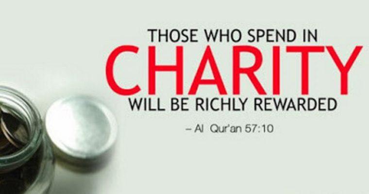 Being Charitable Brings Great Rewards