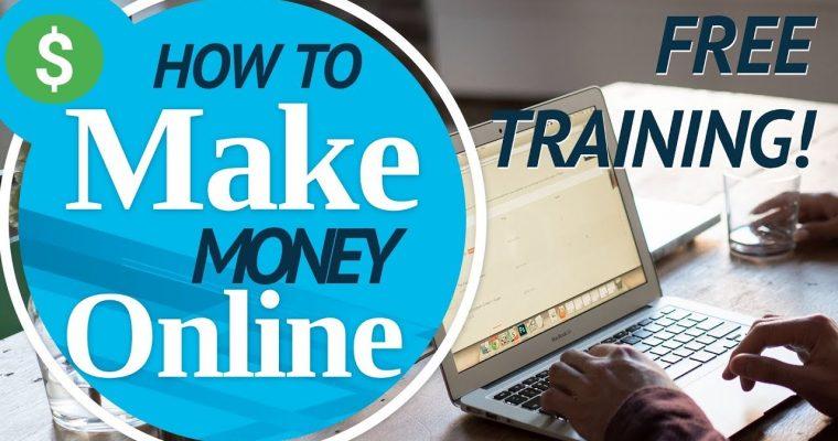 "FREE ""How To Make Money"" Training"