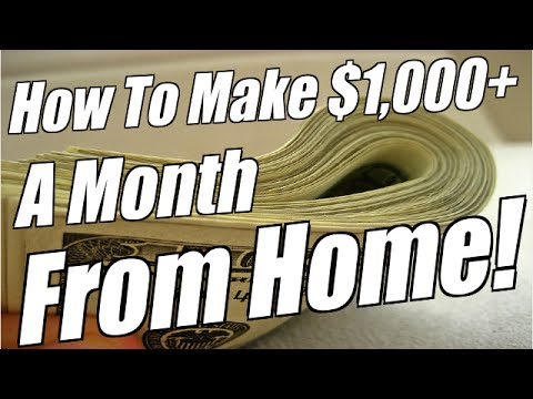 How to make $1,000 a month with no outlay and no work….