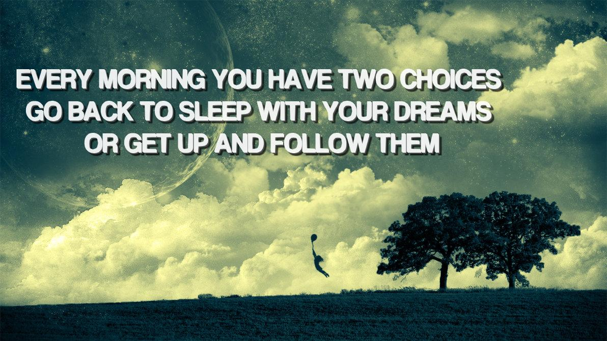 Living Your Dreams……