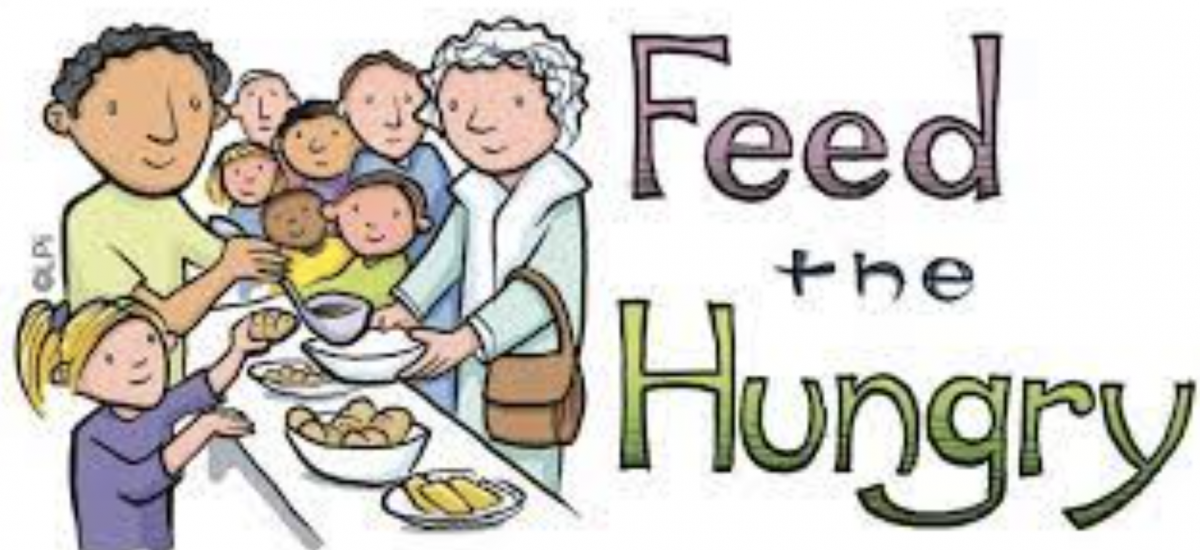 Feed The Hungry and Prosper Personally!